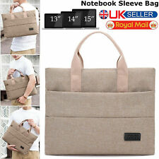 """15.6"""" inch Laptop Hand Case Sleeve Bag For DELL Sony MAC Asus Samsung Notebook"""