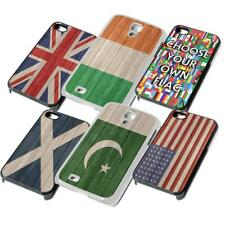 FLAG Wood Look Phone Cover for iPhone iPod Samsung 6 7 8 X XR 7th phone case