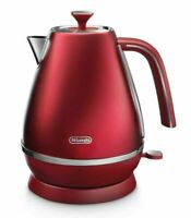 DeLonghi KBI2001R Distinta Flair 1.7L Cordless Electric Kettle - Glamour Red