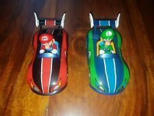 Mario and Luigi Karts x2 Wii Carrera Go!!! 1:43 scale Slot Cars Wild Wing Pair