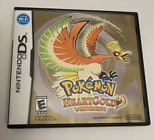 2010 Nintendo DS Pokemon Heart Gold HEARTGOLD Version  Case Manual Only NO GAME