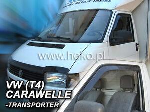 +HEKO Windabweiser VW CARAVELLE / TRANSPORTER T4 2türer 1990 - 2003 2tlg