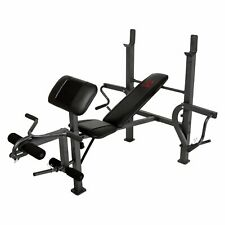 New Marcy MD-389 Home Gym/Weight Bench/Leg Developer