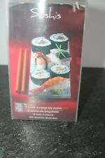set à sushis bambou riz moule accessoire kit natte à rouler bol