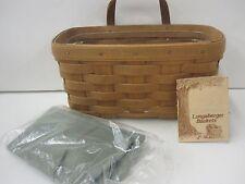 Longaberger 1998 Medium Key Basket Combo Only Displayed - Retired