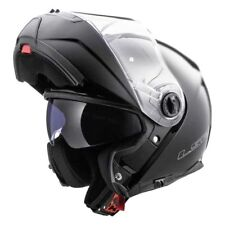 LS2 FF325 Strobe Gloss Black Flip Up Sun Visor Modular Motorbike Scooter