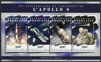 TOGO 2018 50th ANNIVERSARY OF THE LAUNCH OF APOLLO 8  SHEET MINT NEVER HINGED