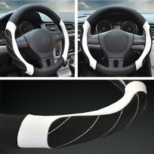 "1x 38CM 15"" Car SUV Styling Non-Slip Steering Wheel Cover Protector Four Seasons"