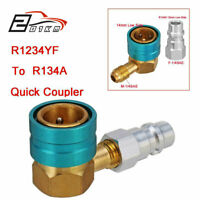 R1234YF to R134A Low Side Quick Connect Coupler Hose Adapter Fitting Connector L