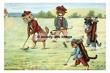 rp02761 - Louis Wain Cats Playing Golf - photograph 6x4