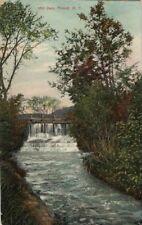1908 Postcard - Mill Dam - Poland NY