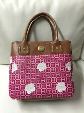 NWT Tommy Hilfiger Pink Floral Small Tote Handbag