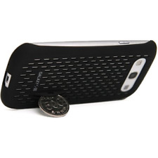 Anymode MCHD258KBK Galaxy S III Plastic Coin Stand Case - Black *NEW*