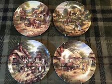4 Royal Doulton Country Days Bradex Collectors Plates