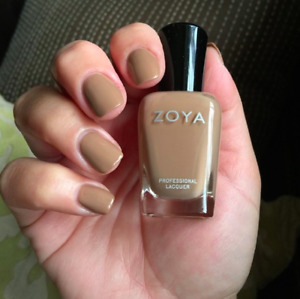 NEW Zoya Nail Polish Flynn Camel Brown Nude/ Fast Shipping