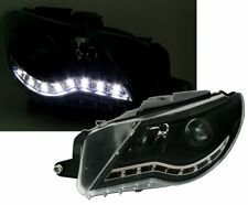 OFFER Headlights LED DRL Look VW PASSAT CC Daylight Black IT LPVWJ5EM XINO IT