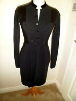 Stunning  HIGH by Claire Campbell  Quirky Black Dress Size UK 8-10 Small