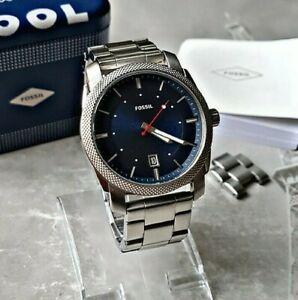 Fossil Herrenuhr Uhr Armbanduhr Chronograph Edelstahl Fossil Machine FS5340