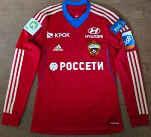 CSKA MOSCOW 2013/14 NIKOLAES#51 PLAYER ISSUE ADIDAS FORMOTION SHIRT JERSEY