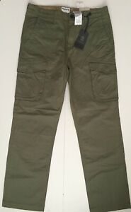 Timberland Mens RELAXED FIT Cargo Pants/Trousers Style TB0A1O88 GENUINE