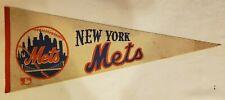 New York Mets Logo & City in Ball 1969 MLB Baseball Team Pennant