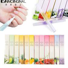12pcs Mixed Taste Cuticle Revitalizer Oil Pen Nail Care Treatment Manicure Set