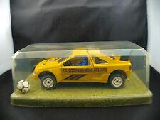 Peugeot 405 Turbo 16 FC Sochaux Montbeliard 1/25 diorama Mondia Plus