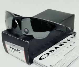 "OAKLEY polished black ""PRIZM"" HALF JACKET 2.0 OO9153-26 (A) sunglasses! NEW!"