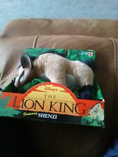 Disney Mattel 1994  SHENZI  The Lion King Vintage Rare Soft Toy Plastic