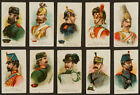 1910 E1 Breisch-Williams Army Cards Complete Set of 25 1st ACC Set
