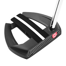 Odyssey O-Works Black Marxman Putter -Winn AVS Midsize PistolGrip - Right Hand