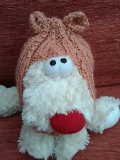 READ LISTING Anti-firework pet balaclava hat reduce sound/stress brown unisex
