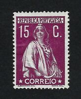 PORTUGAL 1912 CERES 15c  Nº 216 MH