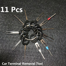 11x Car Terminal Removal Tool Wiring Crimp Connector Pin Release Extractor Kit
