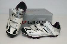 New Giro Women's Manta MTB Cycling Bike Shoes 37.5 5.75 White Plum SPD Mountain