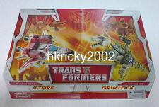 Hasbro Transformers Classics R.I.D. Autobot Jetfire Vs Grimlock Figure Boxset