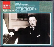 Arthur Rubinstein: Chopin Piano Concerto 1 & 2 Barbirolli 2cd 19 Nocturnes Valse