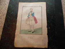 1790.La Vandale.gravure en couleurs..