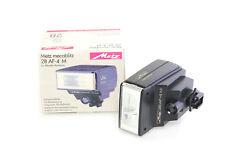Metz mecablitz 28 AF-4 M Blitzgerät flash für Minolta Kameras