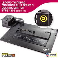 Lenovo W510 W520 W530 ThinkPad Mini Dock Plus Series 3 w/ e-SATA Docking Station