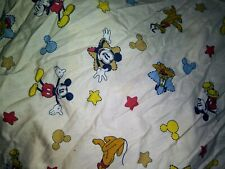 Classic Mickey Mouse Toddler Bed Sheet