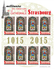 "LABELS NP ""Millenary Grounds of the Cathedral of Strasbourg - Virgin MARY"" 2015"