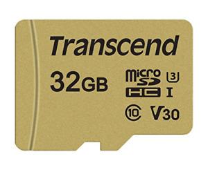 Transcend 32 GB UHS-I U3 MLC MicroSD Card with Adapter