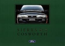 Ford Sierra 4x4 Cosworth Prospekt 6/92 car brochure 1992 Auto PKWs Autoprospekt