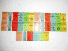 Historische alte Fahrkarten