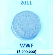 50p Coin - WWF - 2011