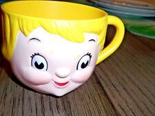 Vintage Collectible Cup Campbell'S Soup Girl Child Plastic Mug/Personalized Bowl