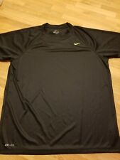 Nike Dri Fit Shirt Mens Size Xlarge Black