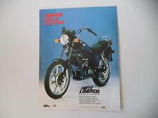 advertising Pubblicità 1985 MOTO LAVERDA 125 LB CUSTOM