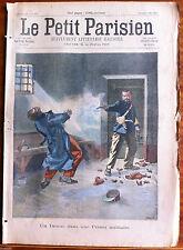 Le petit Parisien illustré 6/05/1900; Un drame dans une prison militaire